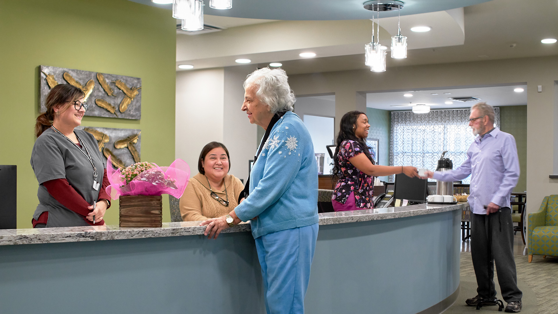 Kern River Transitional Care has a mission-driven team, dedicated to delivering the highest quality of nursing, rehabilitative care and therapy, 24 hours a day, 7 days a week. Contact us today!